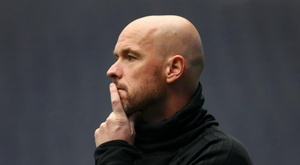 Erik ten Hag has had a superb season with Ajax. GOAL