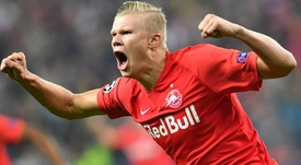 Erling Haaland's father says his son would like to play in England one day. GOAL