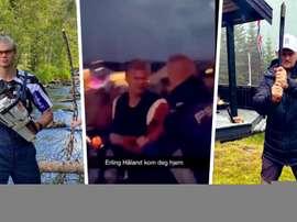 Vídeo de Haaland sendo expulso de casa noturna viraliza. EFE