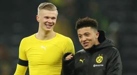 Haaland: Sancho est un sacré joueur et sera important pour le Borussia Dortmund cette saison. Goal