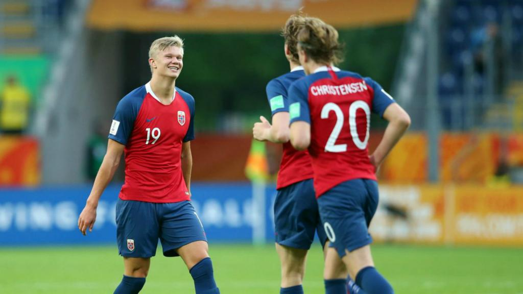 Norway Haaland Smash U20 World Cup Records Besoccer