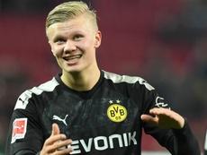 Haaland savours Dortmund debut