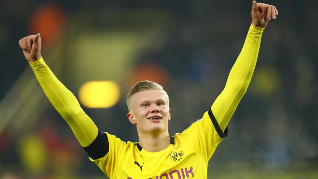 Five goals in 57 minutes for Haaland at Borussia Dortmund