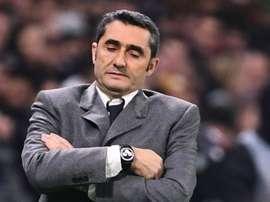 Valverde lamenta empate do Barcelona