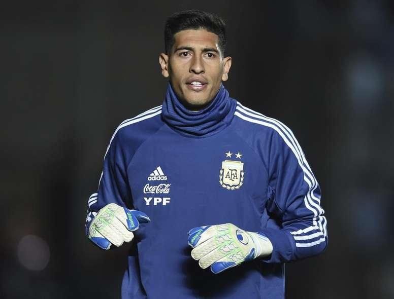 Esteban Andrada_Friendly Match_Argentina