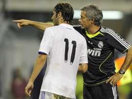 Esteban Granero avec Jose Mourinho au Real Madrid. Goal