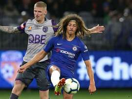 Ethan Ampadu has signed a new five-year contract at Stamford Bridge. GOAL