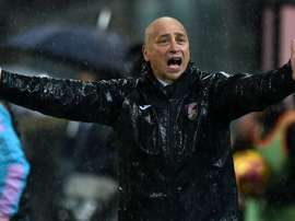 Eugenio Corini only lasted two months in charge of Palermo. Goal