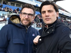 Montella a brother to Roma boss. GOAL