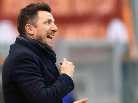 Di Francesco scuote Dzeko. Goal