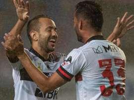 Prazer, Everton Ribeiro: meia faz das suas e se 'apresenta' a Dome no Flamengo. AFP