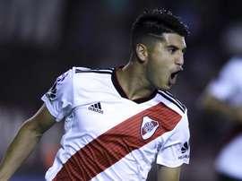 River Plate já trabalha com saída de Palacios para o Real Madrid