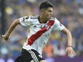 Exequiel Palacios is set to start in Sunday's Superclasico. GOAL