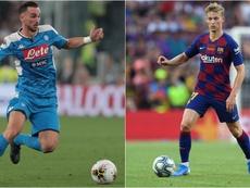 Busquets incorona Fabian e De Jong. Goal