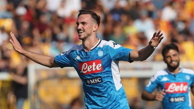 Il centrocampista del Napoli e della Seleccion ko per una faringite. Goal