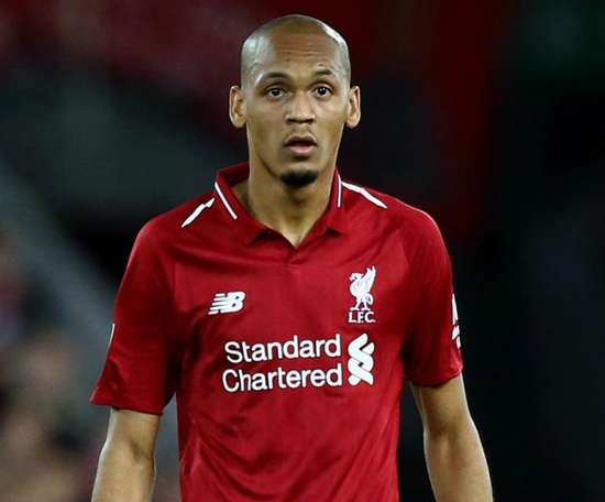 Fabinho spoke of his first year as a Liverpool player. GOAL