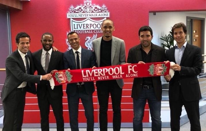 Um idolo dos dragões ajudou na transferência de Fabinho para o Liverpool. Goal