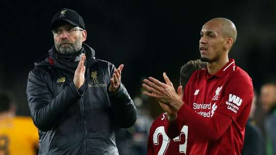 Fabinho has issued words of praise for his manager. GOAL