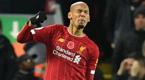 Preocupação no Liverpool: Fabinho machucado e gols sofridos. Goal