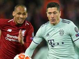 Liverpool: Multiuso, Fabinho colocou Lewandowski 'no bolso'