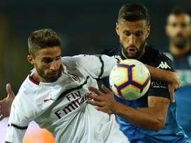 Milan perd du terrain une fois de plus. Goal