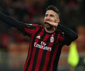 Borini scored the only goal of the game. GOAL