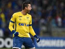 Fábio Cruzeiro Universidad de Chile Copa Libertadores. Goal