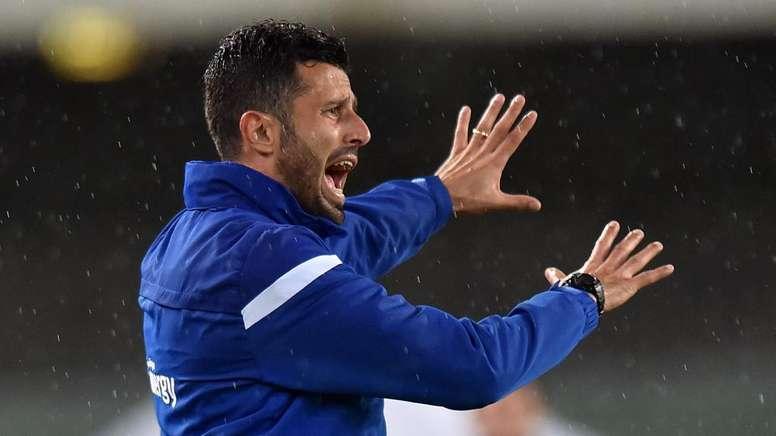 Brescia se sépare de son entraîneur Fabio Grosso. AFP