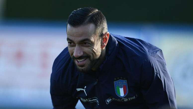 Quagliarella called up by Italy as Balotelli misses out. Goal