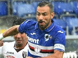 L'attaccante 36enne della Samp Quagliarella. Goal