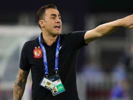 Cannavaro's side were dumped out by former employers Tianjin Quanjian. GOAL