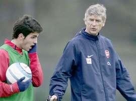 Fabregas described Wenger as a 'father figure'. GOAL