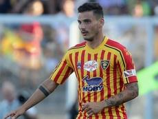 Il Lecce perde Falco: lesione muscolare, rischia un mese di stop