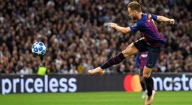 FC Barcelona Ivan Rakitic. Goal