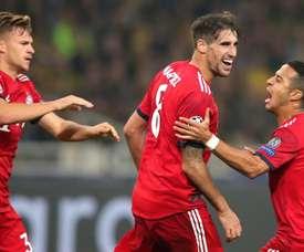 FC Bayern AEK Athens. Goal
