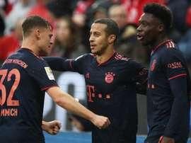 Le Bayern provisoirement en tête à Mayence. GOAL