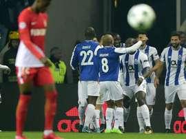 FC Porto-AS Monaco, UEFA Champions League. GOAL