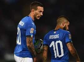 L'Italie est en reconstruction. Goal