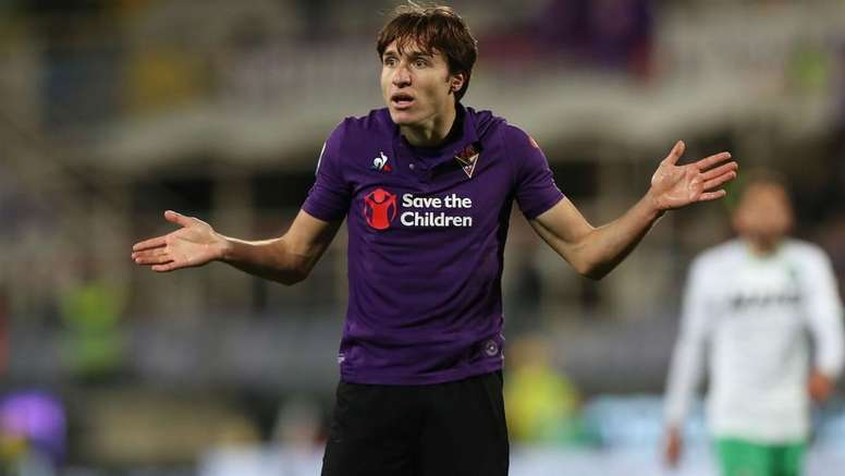 Federico Chiesa, talento della Fiorentina e della Nazionale azzurra. Goal