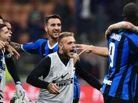 Il terzino dell'Inter, ex Parma, Dimarco. Goal