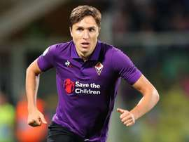 Federico Chiesa has insisted that he is happy at Fiorentina. GOAL
