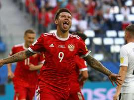 Fedor Smolov has played down his role in Russia's opening Confederations Cup win. GOAL