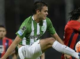 Mercado: Atlético Nacional confirma venda de Felipe Aguilar para o Santos