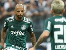 Felipe Melo Corinthians Palmeiras. Goal