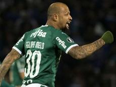 Felipe Melo - meio-campista do Palmeiras