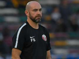 Le sélectionneur de 43 ans arrivé au Qatar en 2006. AFP