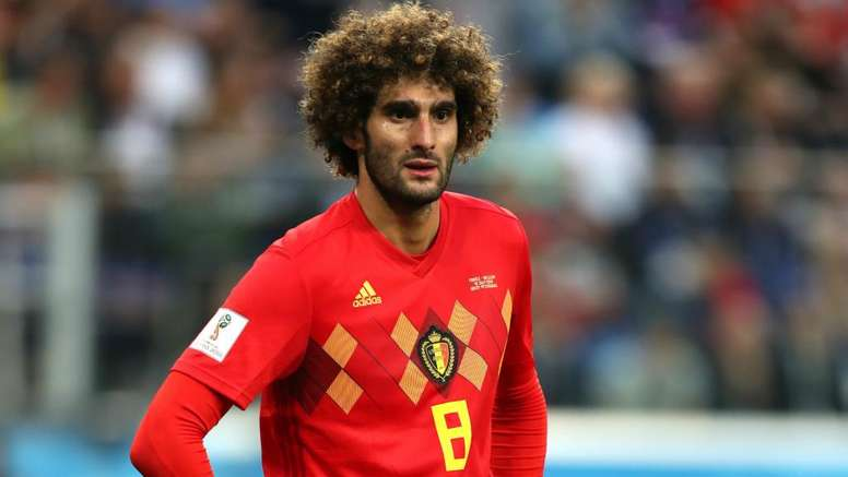 Fellaini has called time on his international career. GOAL