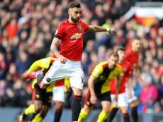 Solskjaer is pleased with Bruno Fernandes' impact at Man Utd. GOAL