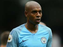 Fernandinho doesn't start for City today. GOAL