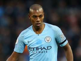Fernandinho will miss this weekend's match. GOAL